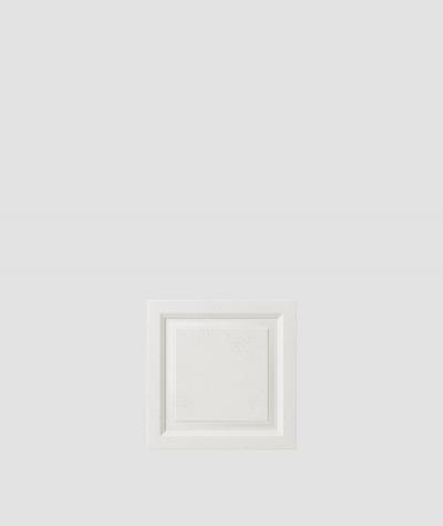 VT - PB33b (BS śnieżno biały) Rama - panel dekor 3D beton architektoniczny