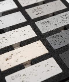 2D concrete slab sampler