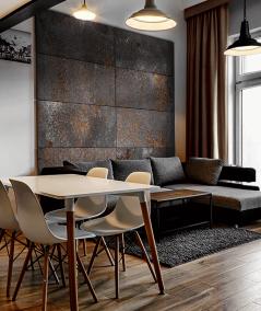 DS (biały corten) - płyta beton architektoniczny GRC ultralekka
