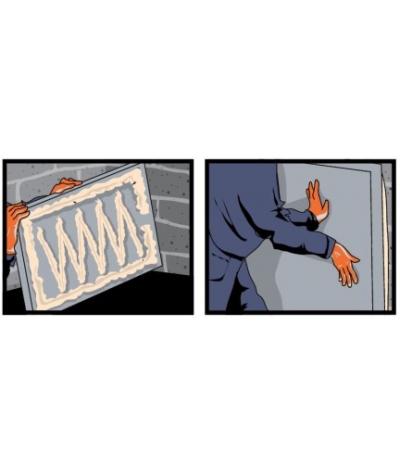 DS Klej montażowy w pianie - do płyt z betonu architektonicznego
