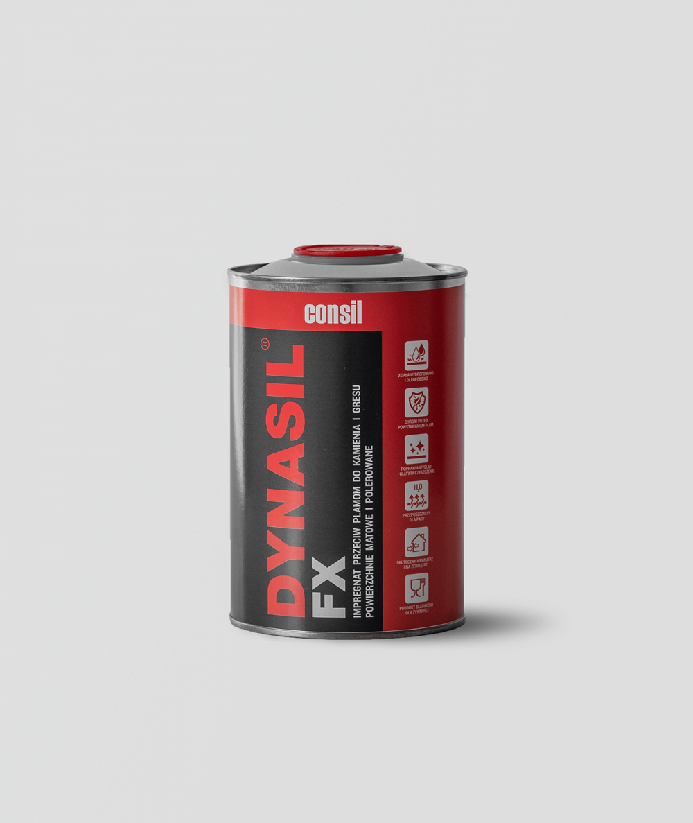 DYNASIL FX - waterproofing impregnate against water and stains for concrete slabs