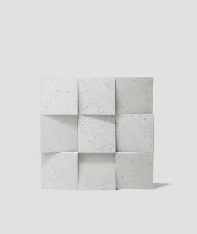 VT - PB16 (B0 white) COCO 2 - 3D architectural concrete decor panel