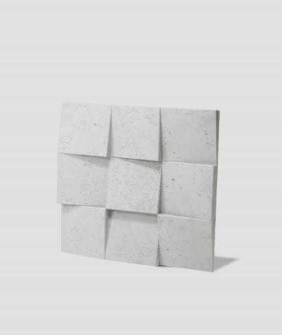 VT - PB16  (B1 siwo biały) COCO 2 - panel dekor 3D beton architektoniczny