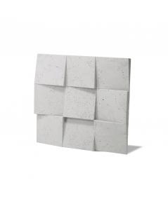 VT - PB16 (B1 gray white) COCO 2 - 3D architectural concrete decor panel