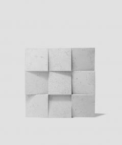 VT - PB16 (S50 light gray - mouse) COCO 2 - 3D architectural concrete decor panel