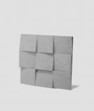 VT - PB16 (S51 ciemny szary 'mysi') COCO 2 - panel dekor 3D beton architektoniczny