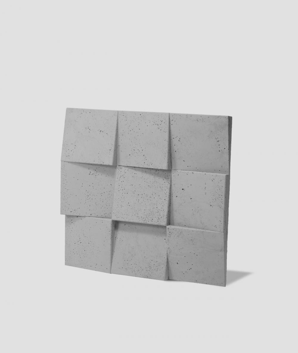 VT - PB16 (S51 dark gray - mouse) COCO 2 - 3D architectural concrete decor panel
