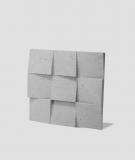 VT - PB16 (S95 jasny szary 'gołąbkowy') COCO 2 - panel dekor 3D beton architektoniczny