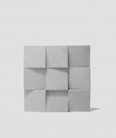 VT - PB16 (S95 jasny szary - gołąbkowy) COCO 2 - panel dekor 3D beton architektoniczny