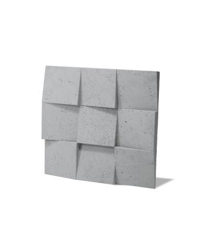 VT - PB16 (S96 dark gray) COCO 2 - 3D architectural concrete decor panel