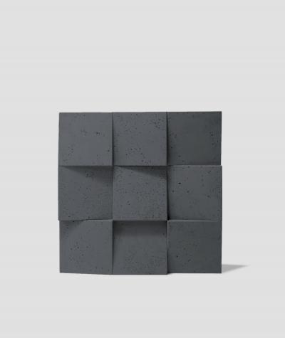 VT - PB16 (B15 czarny) COCO 2 - panel dekor 3D beton architektoniczny