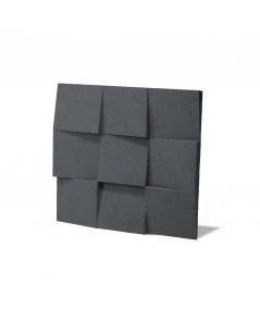 VT - PB16 (B15 black) COCO 2 - 3D architectural concrete decor panel