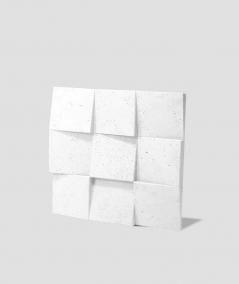VT - PB16 (BS snow white) COCO 2 - 3D architectural concrete decor panel