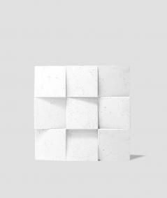 VT - PB16 (BS śnieżno biały) COCO 2 - panel dekor 3D beton architektoniczny