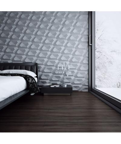 PB02 (B0 white) DIAMOND - 3D architectural concrete decor panel