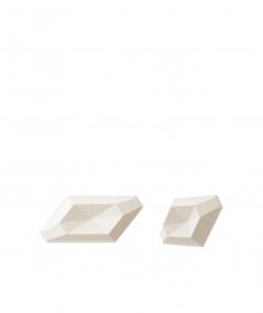 VT - PB02 (B0 biały) DIAMENT - panel dekor 3D beton architektoniczny