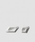 VT - PB02 (S51 szary ciemny 'mysi') DIAMENT - panel dekor 3D beton architektoniczny