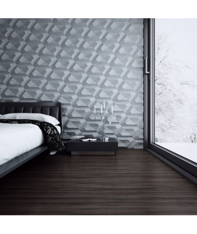 PB02 (S95 light gray 'dove') DIAMOND - 3D architectural concrete decor panel