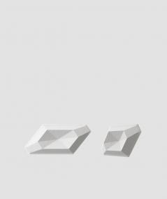 VT - PB02 (S95 szary jasny 'gołąbkowy') DIAMENT - panel dekor 3D beton architektoniczny