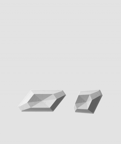 PB02 (S96 dark gray) DIAMOND - 3D architectural concrete decor panel