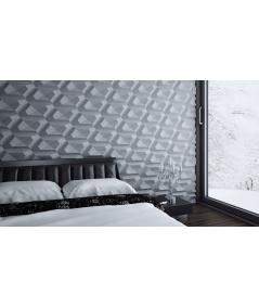 VT - PB02 (B8 anthracite) DIAMOND - 3D architectural concrete decor panel
