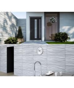 VT - PB03 (KS kość słoniowa) FALA - panel dekor 3D beton architektoniczny