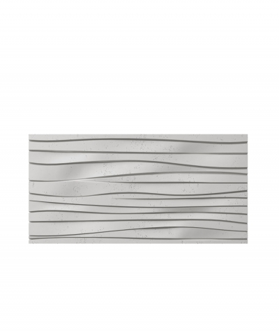VT - PB03 (S51 dark gray - mouse) WAVES - 3D architectural concrete decor panel