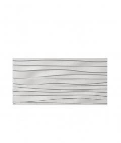 VT - PB03 (S95 light gray - dove) WAVES - 3D architectural concrete decor panel
