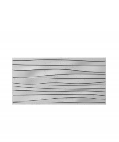 VT - PB03 (S96 szary ciemny) FALA - panel dekor 3D beton architektoniczny