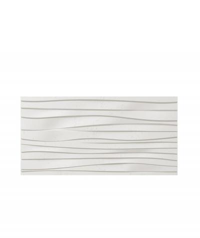 VT - PB03 (BS śnieżno biały) FALA - panel dekor 3D beton architektoniczny