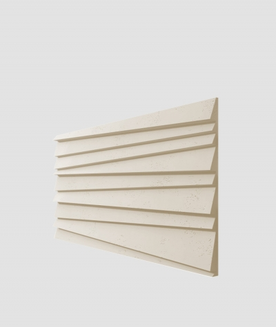 PB04 (KS ivory) SHUTTERS - 3D architectural concrete decor panel
