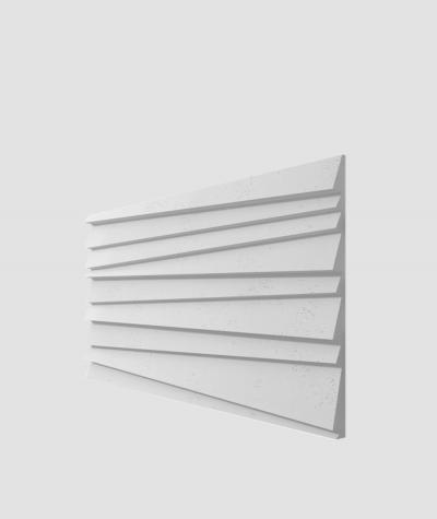 PB04 (S50 light gray 'mouse') SHUTTERS - 3D architectural concrete decor panel