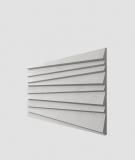 VT - PB04 (S51 ciemny szary 'mysi') ŻALUZJE - panel dekor 3D beton architektoniczny