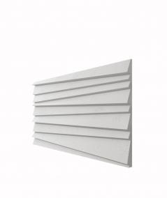 VT - PB04 (S95 jasny szary 'gołąbkowy') ŻALUZJE - panel dekor 3D beton architektoniczny