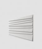 VT - PB04 (S95 jasny szary - gołąbkowy) ŻALUZJE - panel dekor 3D beton architektoniczny