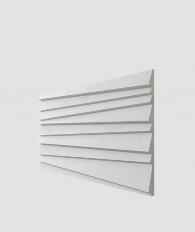 PB04 (S95 light gray 'dove') SHUTTERS - 3D architectural concrete decor panel