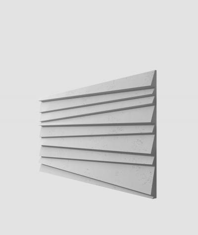 PB04 (S96 dark gray) SHUTTERS - 3D architectural concrete decor panel