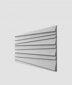 VT - PB04 (S96 ciemny szary) ŻALUZJE - panel dekor 3D beton architektoniczny