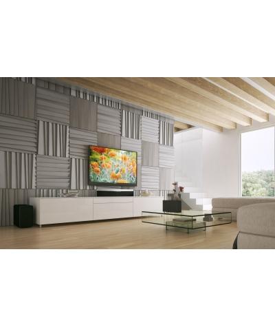 PB04 (B15 black) SHUTTERS - 3D architectural concrete decor panel