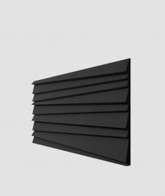 VT - PB04 (B15 czarny) ŻALUZJE - panel dekor 3D beton architektoniczny