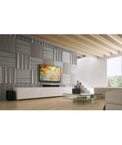 VT - PB04 (BS śnieżno biały) ŻALUZJE - panel dekor 3D beton architektoniczny