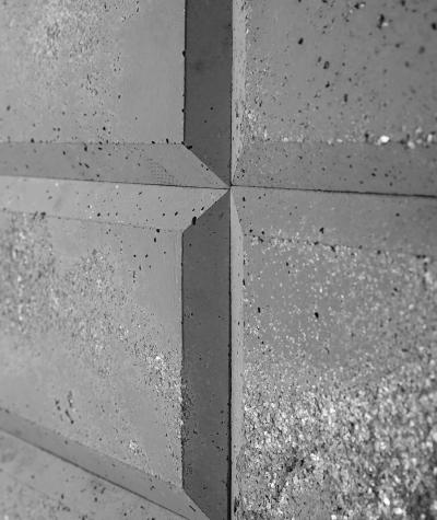 DS Choco 3D (light gray) - architectural concrete