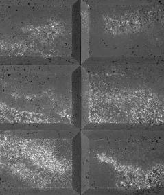 DS Choco 3D (anthracite) - architectural concrete