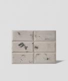 DS Choco (cappuccino - czarne kruszywo) - beton architektoniczny panel 3D