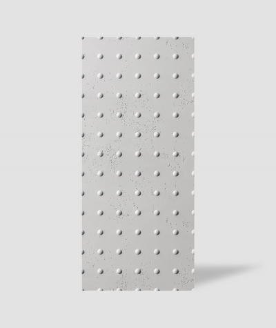 VT - PB55 (B1 gray white) DOTS - 3D decorative panel architectural concrete