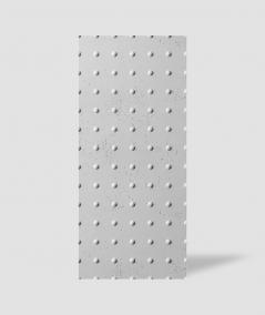 VT - PB55 (S50 jasno szary - mysi) KROPKI - Panel dekor 3D beton architektoniczny