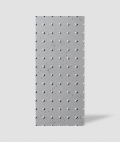 VT - PB55 (S96 dark gray) DOTS - 3D decorative panel architectural concrete
