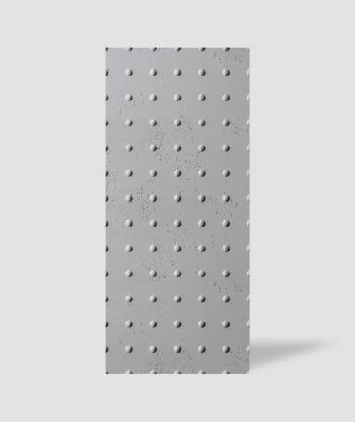 VT - PB55 (S96 dark gray) DOTS - 3D decorative panel architectural concrete