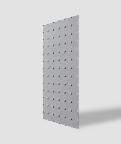 VT - PB55 (S96 ciemny szary) KROPKI - Panel dekor 3D beton architektoniczny