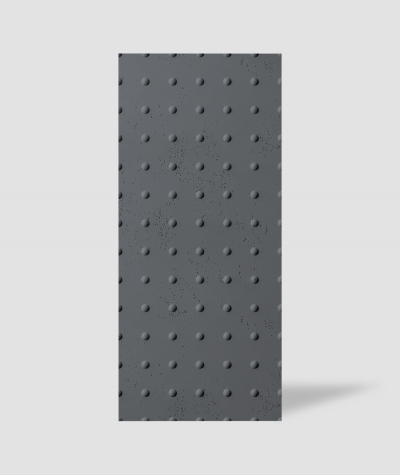 VT - PB55 (B8 anthracite) DOTS - 3D decorative panel architectural concrete